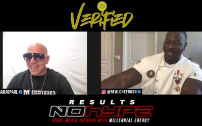 #VERIFIEDPODCAST CHEF RUSH 2222 PUSH UPS EVERYDAY,CHEF FOR 4 PRESIDENTS & RECEIVING THE BRONZE STAR