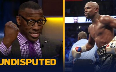 SKIP & SHANNON REACT TO FLOYD MAYWEATHER ACCEPTING EXHIBITION MATCH AGAINST LOGAN PAUL | UNDISPUTED