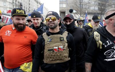 PROUD BOYS LEADER'S CLAIM THAT WHITE HOUSE INVITED HIM WAS REFUTED