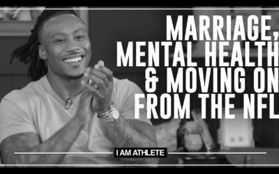MARRIAGE, MENTAL HEALTH & MOVING ON FROM THE NFL   I AM ATHLETE (S2E12)