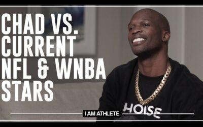 CHAD VS. CURRENT NFL & WNBA STARS | I AM ATHLETE (S2E20)