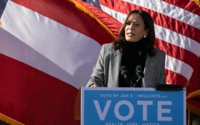 Before Georgia's Senate Runoff Election, Kamala Harris Campaigns