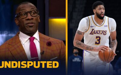 LAKERS SHOULD BE VERY CONCERNED W/ ANTHONY DAVIS' ACHILLES INJURY MOVING FORWARD   NBA   UNDISPUTED