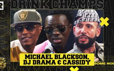 DJ DRAMA, CASSIDY & MICHAEL BLACKSON ON LIL UZI VERT, THE 'GANGSTA GRILLZ' ERA & MORE | DRINK CHAMPS