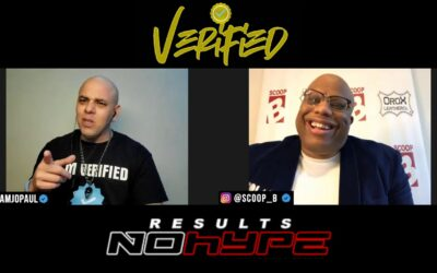 VERIFIEDPODCAST SCOOP B TALKS HIS LOVE FOR B-BALL & HIS DEEP ROUTES IN THE HIPHOP SPORTS CULTURE
