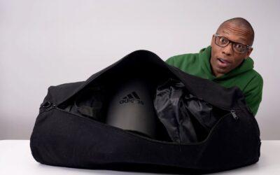 ADIDAS MYSTERY SNEAKER BLACK BAG