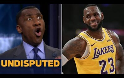 """UNDISPUTED   Shannon reacts to Gary Payton: LeBron is """"by far"""" a better all-around player than MJ"""