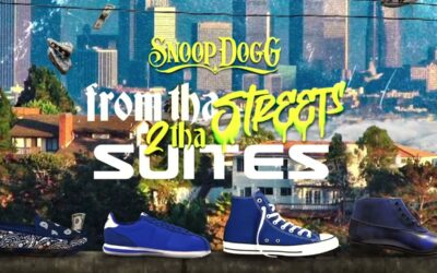 Check out Snoop Dogg's latest album titled 'From Tha Streets 2 Tha Suites'