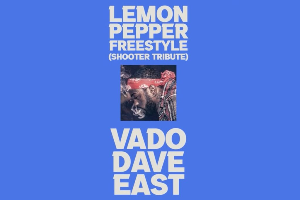 """Vade and Dave East's """"Lemon Pepper Freestyle"""" artwork"""