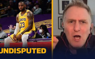 LeBron looked disinterested & disengaged in Round 1 loss to Suns — Rapaport | NBA | UNDISPUTED
