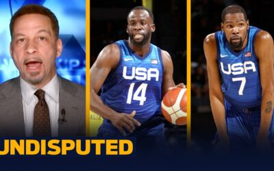 My level of concern for Team USA after losing two straight is a 9, 10 – Broussard I NBA I UNDISPUTED